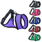 Small Adjustable Pet Dog Safety Nylon Harness Mesh Puppy Training Vest Collar