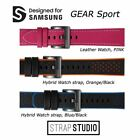 Original Strap STUDIO Leather SmartWatch band for Samsung Gear sport and Gear S3