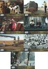 2015 Topps Star Wars:The Force Awakens Behind The Scenes cards - You pick !!