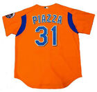 MIKE PIAZZA New York Mets 2004 Majestic Authentic Throwback Baseball Jersey