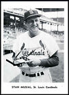 """STAN """"THE MAN"""" MUSIAL~ST. LOUIS CARDINALS~1961 JAY PUBLISHING 5x7 PHOTO/PICTURE"""