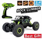 1/18 2.4G 4WD Remote Control RC Truck Crawler Off-road Toys Car Buggy for Kid