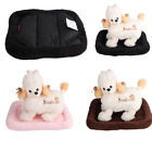 New Small Medium Recycled Soft Plush Dog Puppy Pet Cat Bed Warm Mat Crate Kennel