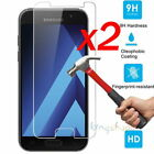 Внешний вид - 2X Tempered Glass Screen Protector Film For Samsung Galaxy A3 A5 A6 A8 2017 2018