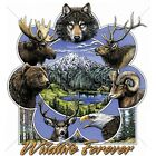 Wild Life Forever Size 2 X Large-7 X Large Mens Tank Tops