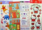 Assorted Large Sheets of Themed Stickers ALL NEW & UNUSED
