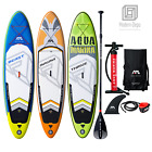 Kyпить 10' Aqua Marina Inflatable Stand Up Paddle Board with Paddle and Coil Leash на еВаy.соm