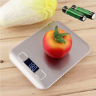 Digital Kitchen Scale Stainless Steel Glass Food Postal 11lbx0.05oz 22lb Cooking photo