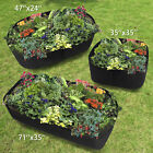 Fabric Raised Home Garden Bed Baskets Planting Pots Window Boxes Plant Care Bag~