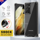 Samsung Galaxy S10 S9 S8 Plus Note 10 9 Case Shockproof Clear Bumper Cover 5G
