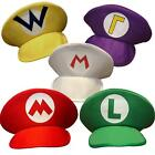Mario Luigi Party Hat Cap Fancy Dress Costume