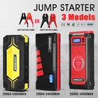 12V/24 Portable Jump Starter Battery Charger Power Bank Car Vehicle Booster