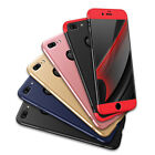 New iPhone X 8/7/6s Plus Slim Hybrid Shockproof Armor Hard Thin Case Back Cover