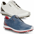 Ecco Mens 2018 Biom G2 Gore Tex Waterproof Spiked Boa Golf Shoes