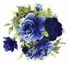 Midnight Blue Rose Centers Select-A-Size Waterslide Ceramic Decals Bx image