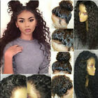 360 Full Frontal Lace Wigs Pre Plucked Natural Peruvian Virgin Human Hair Curly
