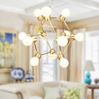 LED Ceiling Light Glass Pendant Lamp Modern Chandeliers For Dining Room Lighting
