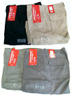 NWT Unionbay Men's Flex Waist 98% Cotton Cargo Shorts - Colo
