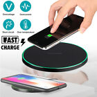 Fast Wireless QI Charger CellPhone Charging Pad Mat for iPhone X/8 Samsung S9/S8
