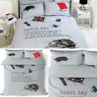 Duvet Day Duvet Covers Modern Lazy Day Printed Easy Care Quilt Bedding Sets