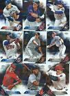 2016 Topps Chrome Baseball Base cards - Complete Your Set !!