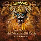 Hell Yeah!!! The Awesome Foursome/Live in Montreal by GAMMA RAY (2-CD/SEALED)