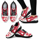 2018 FIFA World Cup England Women Athletic Sneakers Workout Sport Yoga Work Shoe