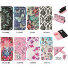 Fashion 3D Beautiful Magnetic Leather Stand Card Wallet Flip Case Lot Phones