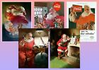 Coca-Cola Father Christmas Santa Ad A5 A4 A3 Vintage Poster £5.99  on eBay