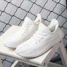 White SPORTS YEEZY1 350 BOOST TRAINERS FITNESS GYM SPORTS RUNNING SHOCK SHOES