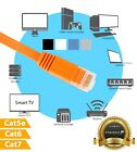 cat 5 cat 6 cable - Cat5e Cat6 Cat7 Ethernet Internet LAN Network Flat Cable Modem Router Bulk Lot