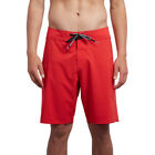 Volcom Lido Solid Mod 20in Mens Shorts Boardshorts - True Red All Sizes