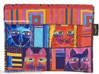 Laurel Burch Whiskered Cats Padded Tablet Case iPad eReader 11x9 Retired New