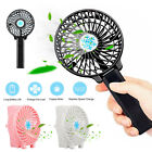 Mini Portable Outdoor Foldable Handheld Cooling Fan + Rechargeable 18650 Battery
