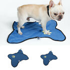 Double-side Suction Cup Dog Towel Absorbent Puppy Grooming Cleaning Drying