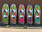 World Industries Jef Hartsel Globes II Old School Reissue Skateboard Deck Alva