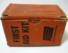 Antique Penn Central Railroad - First Aid Kit - # 12706 - Two Complete Packets