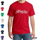 WHITE TRASH Funny T Shirt Mens King of the Hill Tee Tavern Party Trailer Park xx