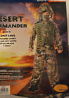 Boy's Desert Commander 4 Pc Halloween Costume Outfit Size Small (4-6)