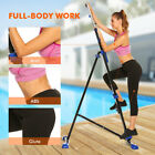 Vertical Climber Machine Exercise Stepper Workout Fitness Gym Equipment 2-Straps