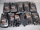 Job lot 10 x motorcycle MX EnduroTrials Off road gloves stretch fit size medium