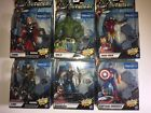 "Mavel Legends 6"" Walmart Exclusive Avengers Movie Studio Series Lot of 6 NIB"