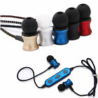 Sport Bluetooth Headset Stereo Earphone Headphone With MIC For Samsung iPhone X