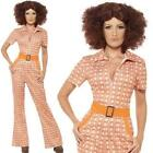 Ladies  1970's Disco Authentic Chic Fancy Dress Costume / Outfit