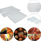 Non-Stick BBQ Net Mesh Barbecue Racks/ Carbon Baking Net/Grill Stainless Steel