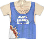 Amity Island Jaws T Shirt  -  Funny Shark Bite Full Print Shirt