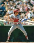 Signed  8x10 TED SIZEMORE  St. Louis Cradinals  Autographed photo - COA