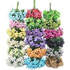 Внешний вид - 12/24/48pcs Mulberry Mini Fake Flowers Artificial Flower Stamens Wedding Bouquet