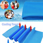 Instant Cooling Towel ICE Cold Cycling Jogging Gym Sports Outdoor Chilly NEW image