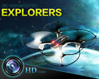 Mini RC Quadcopter 2.4GHz 4CH 6-Axis Gyro 3D UFO Drone With 2.0MP HD Camera BK